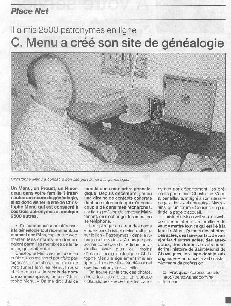 [curiosité] - Actes originaux qui changent de l'ordinaire (suite 3) - Page 4 Ouest-France%20du%2007.06.2005